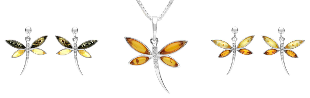 sterling-silver-honey-amber-cubic-zirconia-dragonfly-drop-earrings-and-necklace
