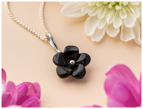 sterling-silver-whitby-jet-carved-petal-flower-necklace