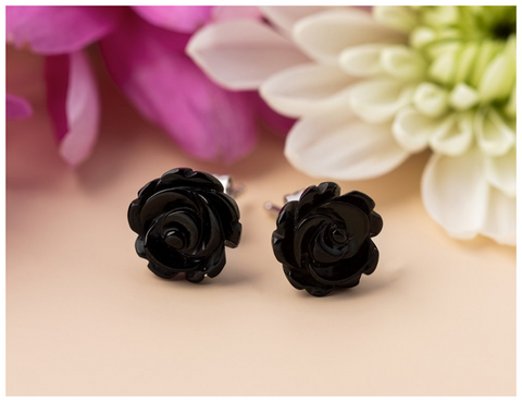 sterling-silver-whitby-jet-small-carved-rose-stud-earrings