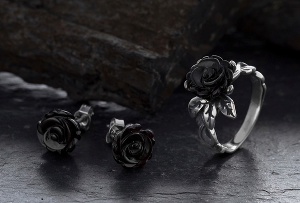 whitby-jet-carved-rose-two-piece-set