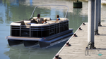 Bennington SX25 Pontoon Boat and Trailer