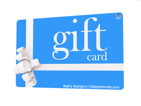 Clapped Mods Gift Card