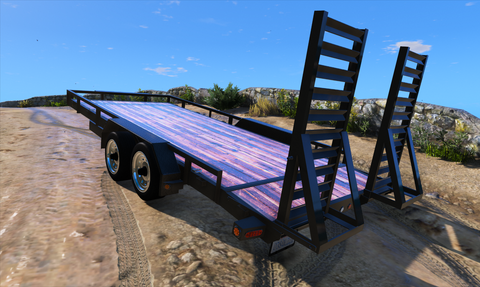 20 Foot Bumper Trailer with Ramps