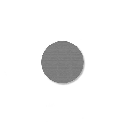 "1"" GRAY Solid DOT - Pack of 200"