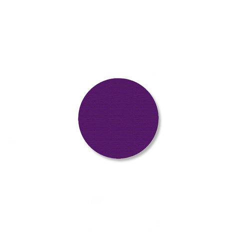 "1"" PURPLE Solid DOT - Pack of 200"