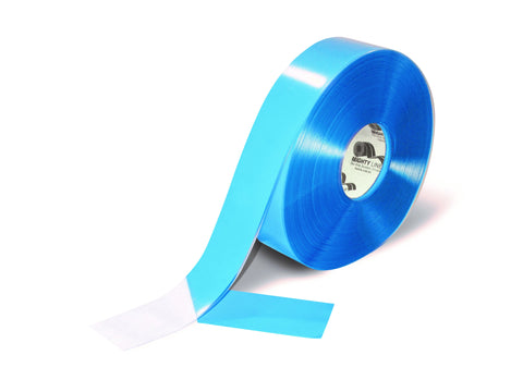 "2"" Clear Mighty Line Floor Tape - 100' Roll"