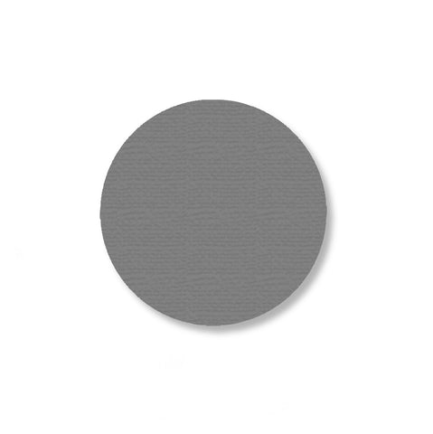 2.7 Inch Gray Aisle Marking Tape Dots - Pack of 100