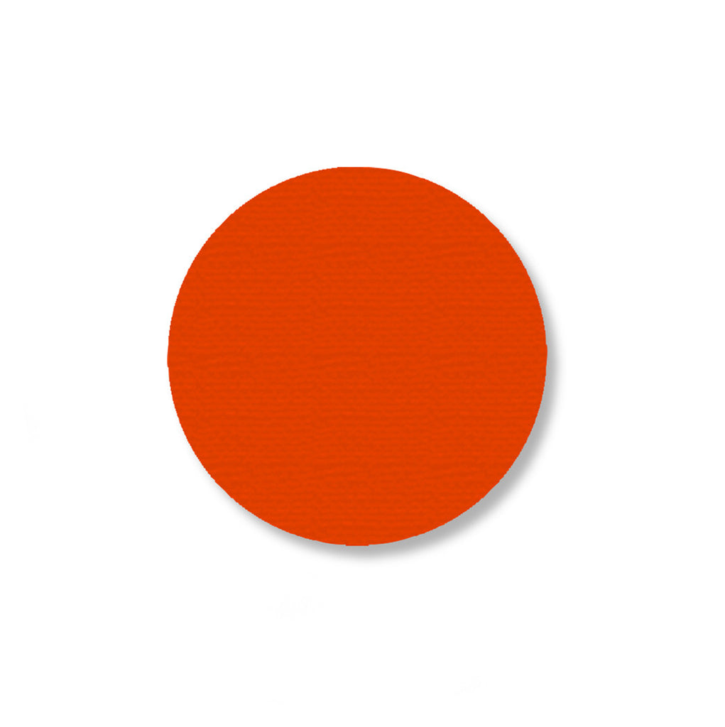 2.7 Inch Orange Industrial Marking Tape Dots