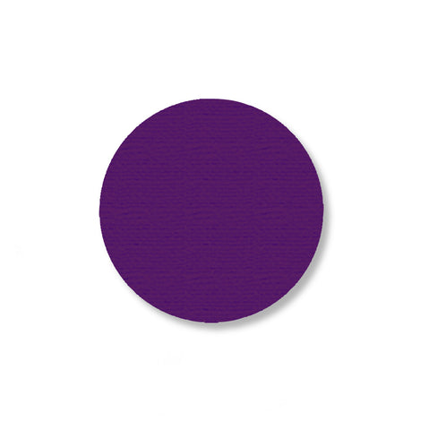 2.7 Inch Purple Warehouse Marking Dots - Pack of 100