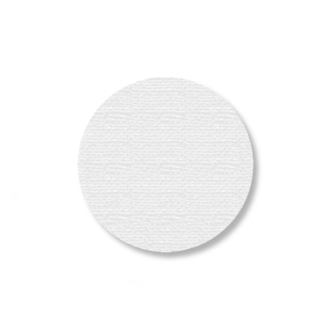 "White Warehouse Floor Dots, 2.7"" - Pack of 100"