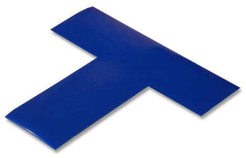 "2"" Wide Solid BLUE T - Pack of 25"