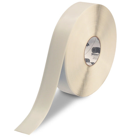 "2"" White Solid Color Tape - 100'  Roll"
