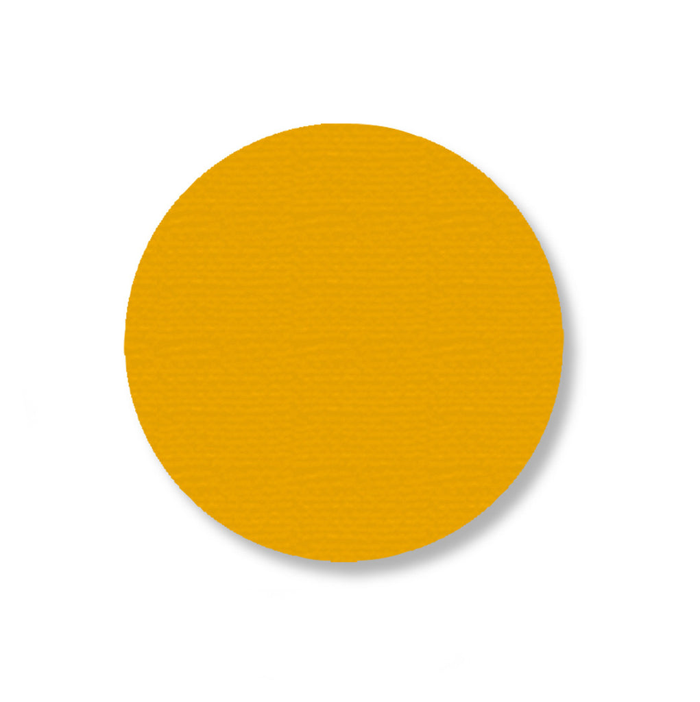Mighty Line Yellow Aisle Marking Floor Dots, 3.5""