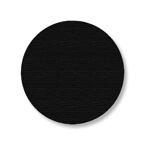 "3.75"" Black Industrial Floor Tape Dots - Mighty Line"