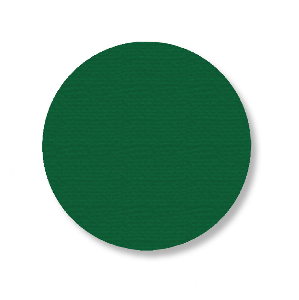 Mighty Line Green Warehouse Dot Decals, 3.75""