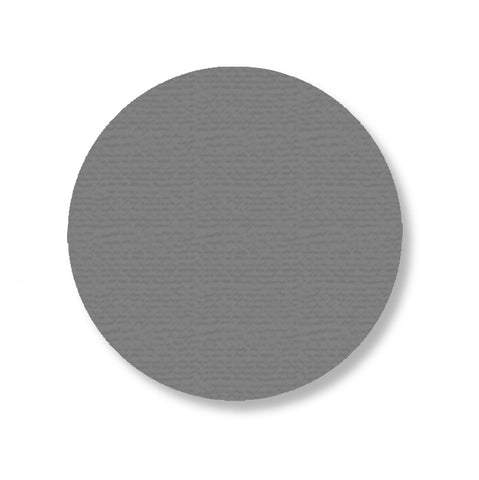 "Gray Industrial Floor Marking Dots, 3.75"" - Pack of 100"