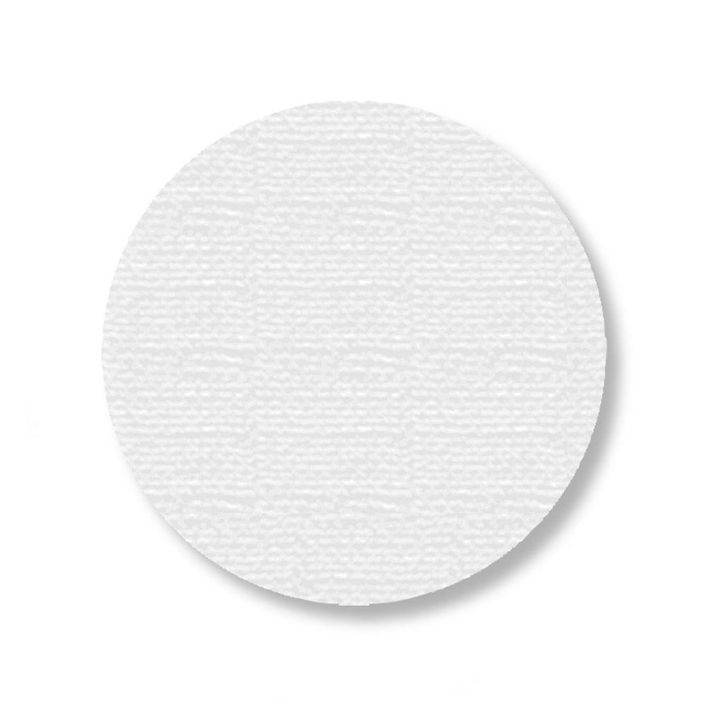 "3.75"" WHITE Solid DOT - Pack of 100"