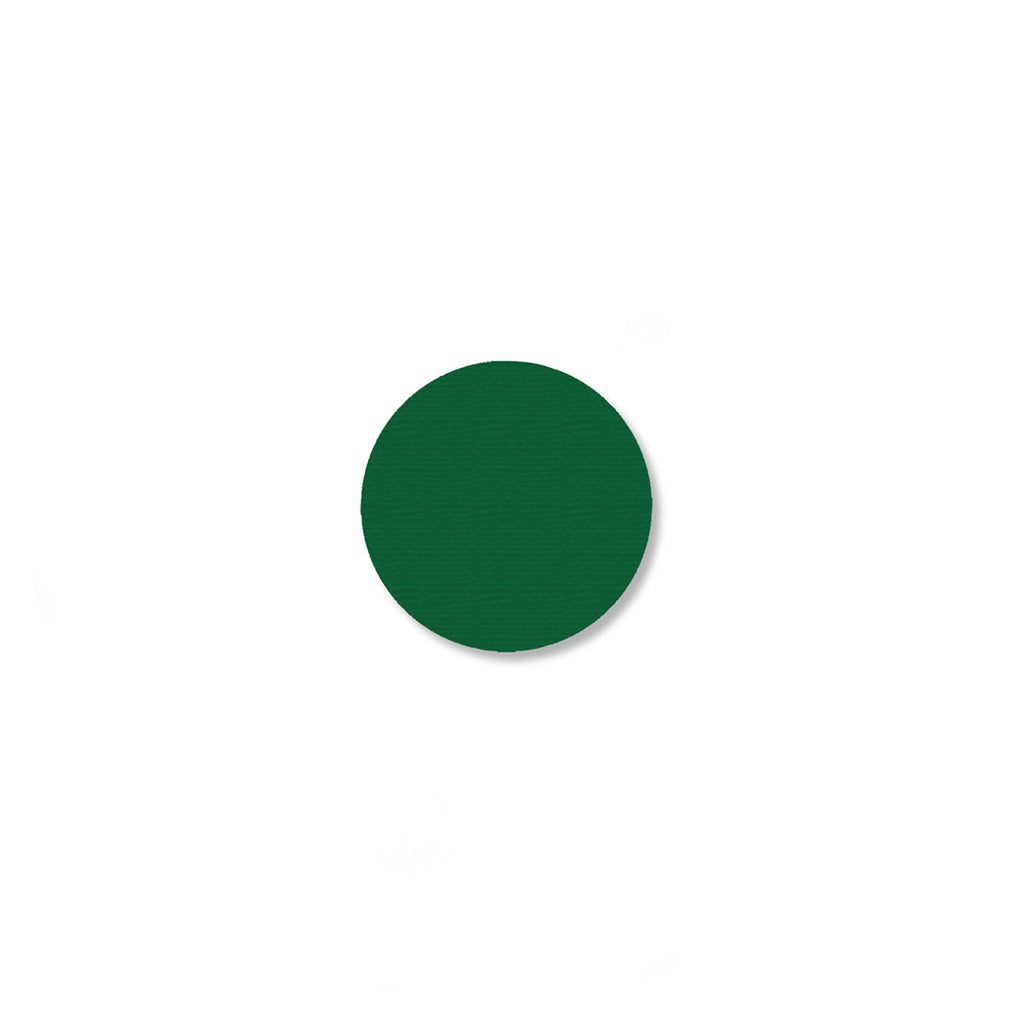 Mighty Line Green Industrial Floor Tape Dots, .75""