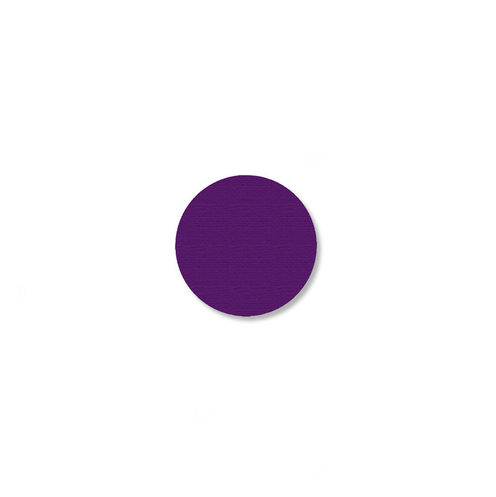 .75 Inch Purple Aisle Marking Dots - Mighty Line