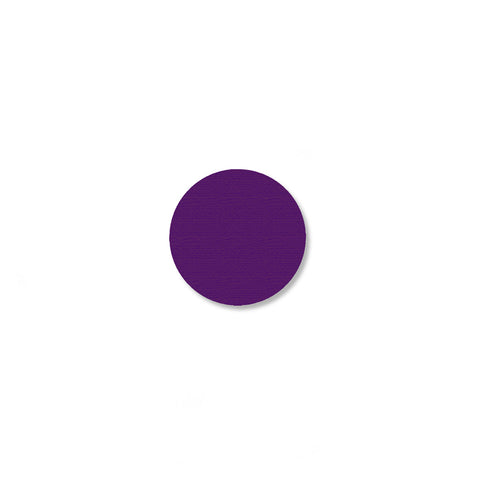 .75 Inch Purple Aisle Marking Dots - Pack of 200