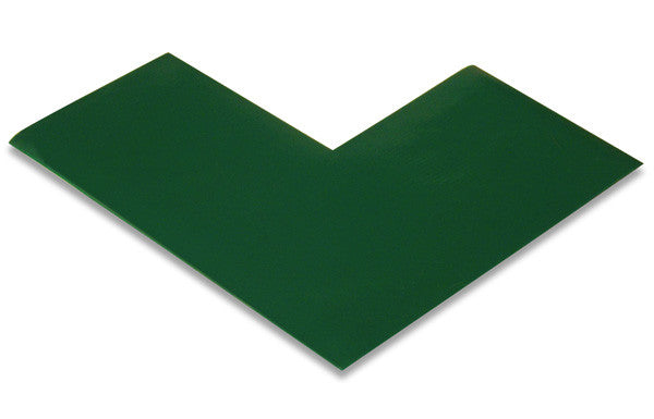 "3"" Green Warehouse Marking Angles"
