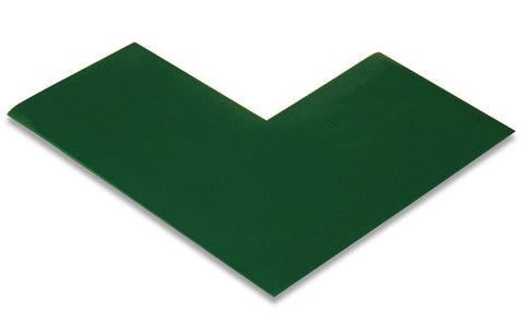 "3"" Green Mighty Line Floor Marking Angles"