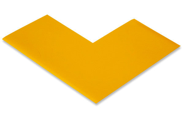 "3"" Yellow Safety Tape Corners"
