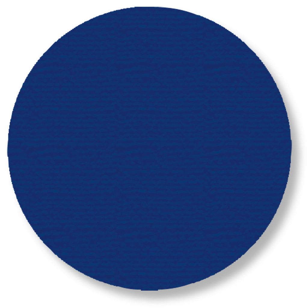 "5.7"" BLUE Solid DOT - Pack of 50"