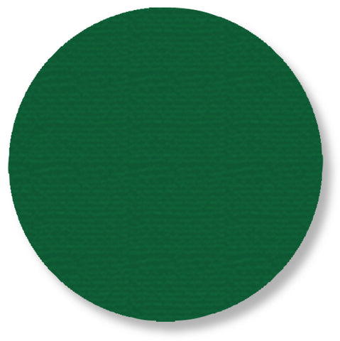 Green 5.7 Inch Warehouse Tape Dots - Pack of 50