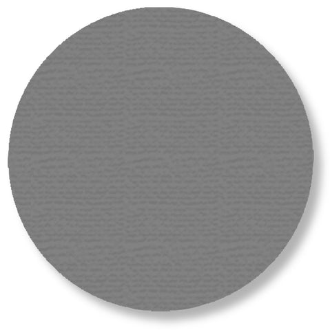 5.7 Inch Gray Warehouse Floor Tape Dots - Pack of 50