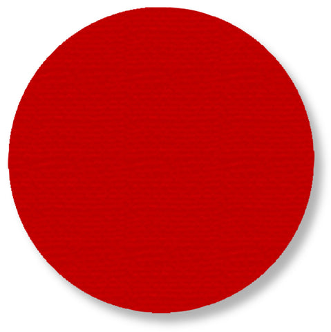 "Red 5.7"" Warehouse Floor Dots - Pack of 50"