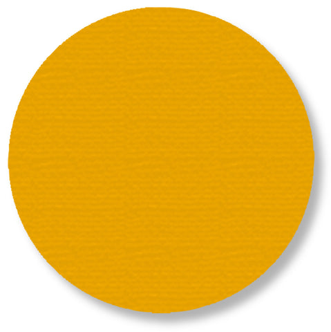 "5.7"" YELLOW Solid DOT - Pack of 50"