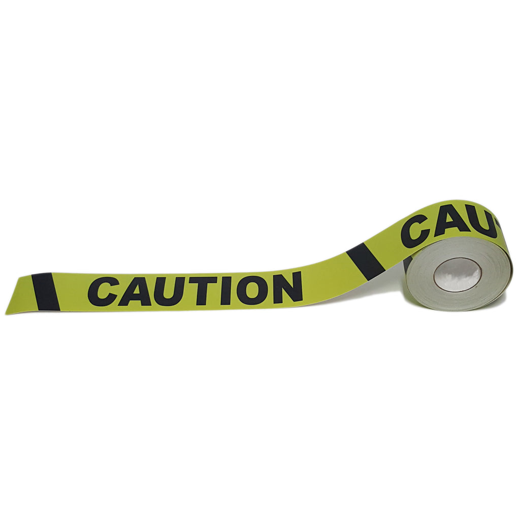 "3"" Caution Floor Tape"