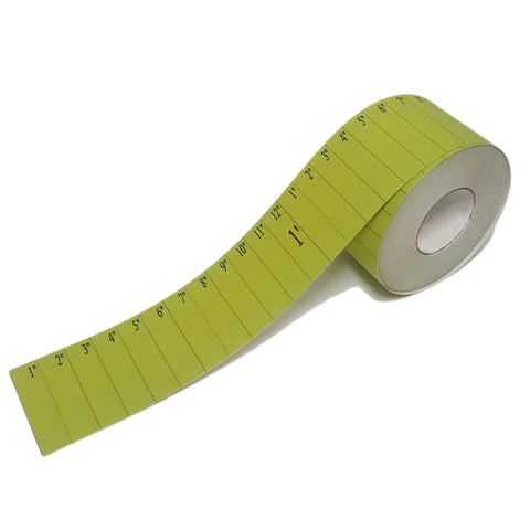 "4"" Ruler Floor Tape"