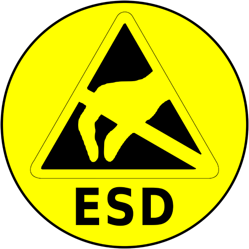 Esd Floor Sign Industrial Floor Tape