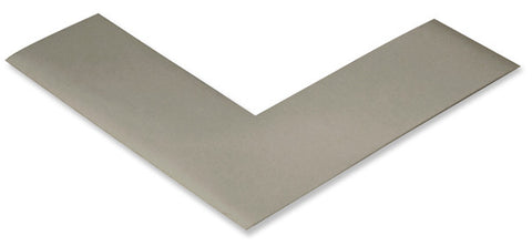 "2"" Gray Mighty Line Floor Marking Angles"
