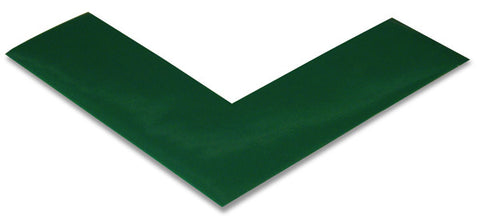 "2"" Green Mighty Line Floor Marking Angles"