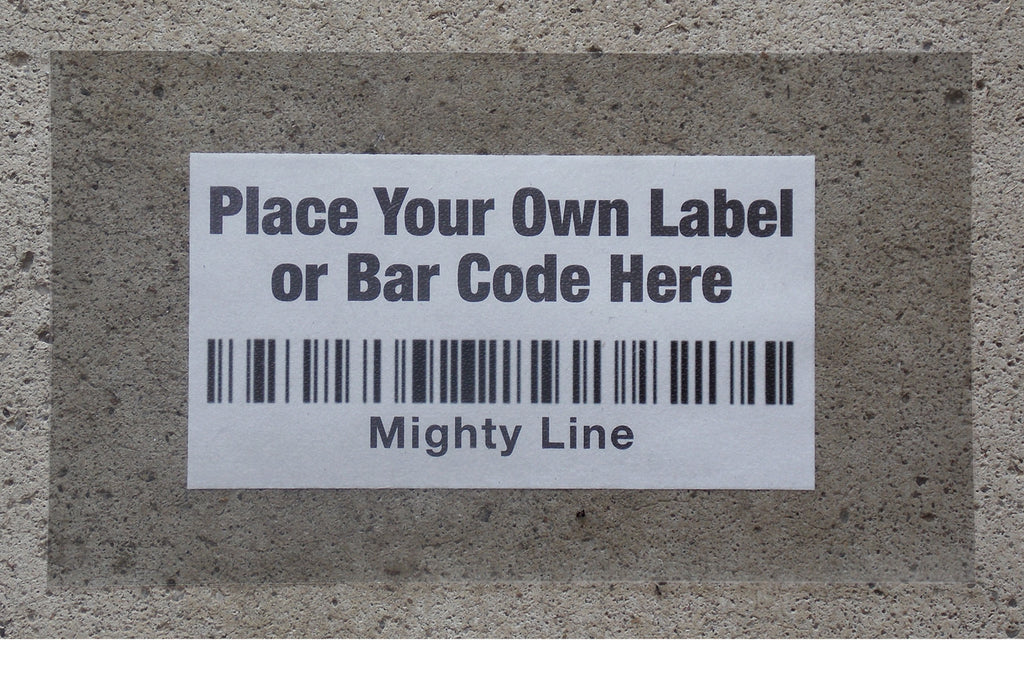 Clear Floor Label Protectors - Mighty Line