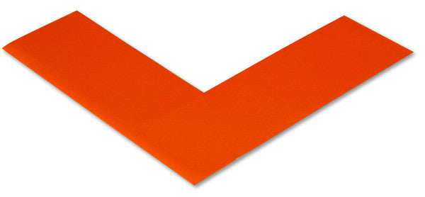 "2"" Orange Floor Marking Angles"