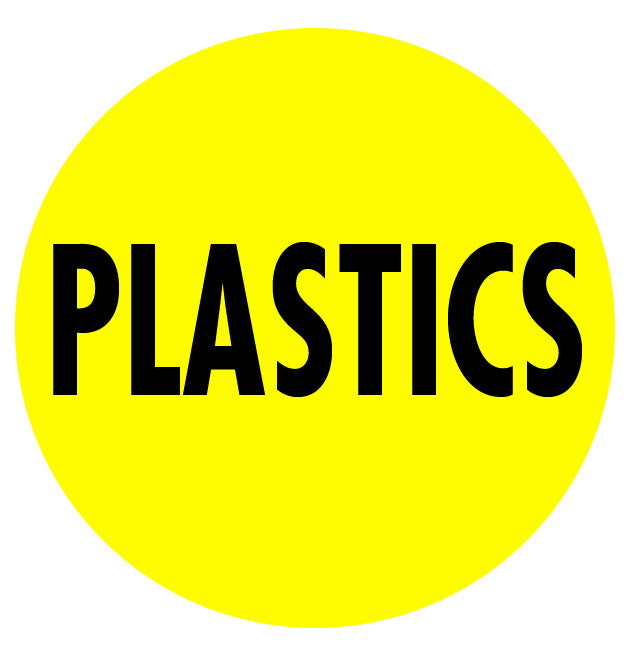 Plastics Floor Sign