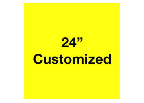 "CUSTOMIZED - 24"" Yellow Square - Set of 2"