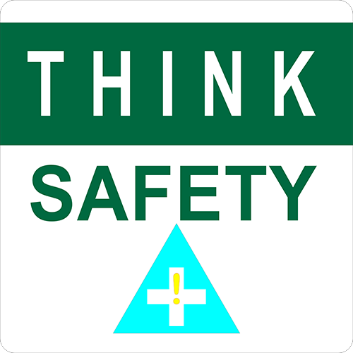 Think Safety Floor Sign