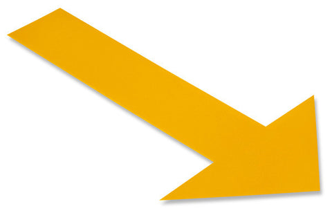Yellow Arrow - Pack of 50