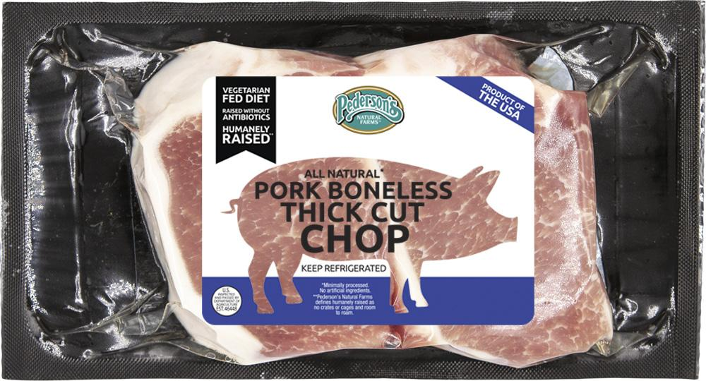 BONELESS THICK CUT PORK CHOPS