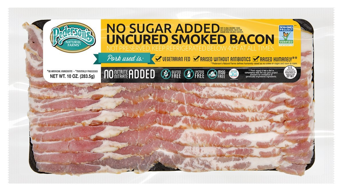 NO SUGAR ADDED UNCURED SMOKED BACON - NON GMO, PROJECT VERIFIED
