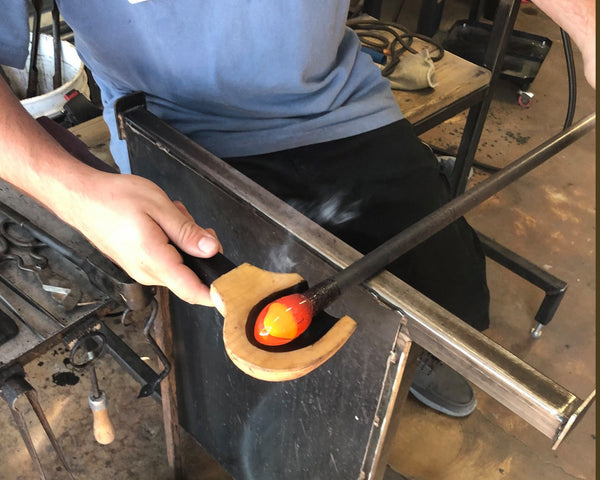 Demonstrations at Lake Superior Art Glass