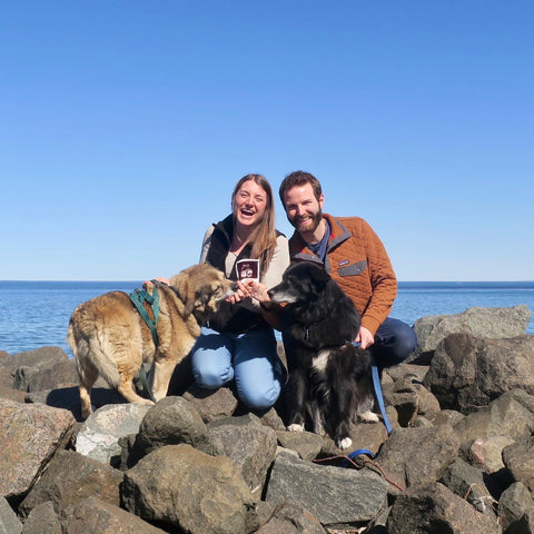 Dan and Caitlin Neff - Owners of Lake Superior Art Glass