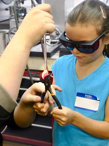 Kids Glassblowing Classes at Lake Superior Art Glass