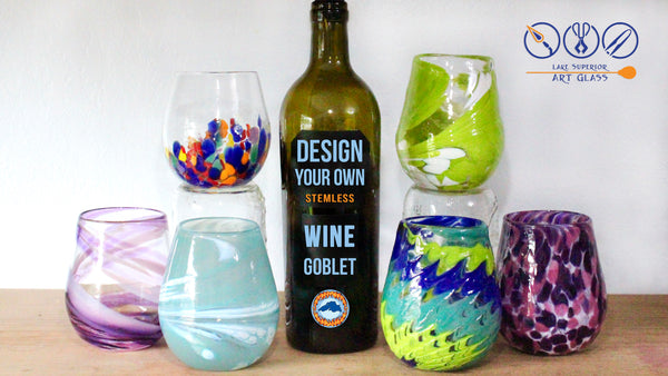 Design Your Own Stemless Wine Goblet