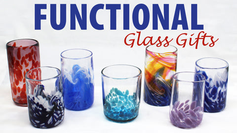 functional glass gifts christmas tumblers glassware glasses glass